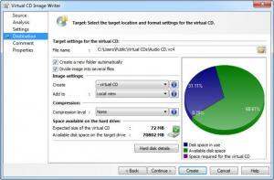 Enlarge Virtual CD Screenshot