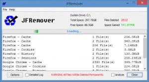 Enlarge JFRemover Screenshot