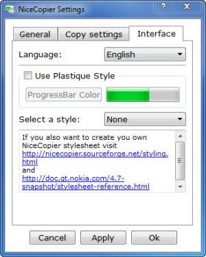 Enlarge NiceCopier Screenshot