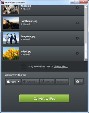 Enlarge Miro Video Converter Screenshot