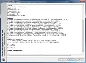 Enlarge Phantom Drive Screenshot