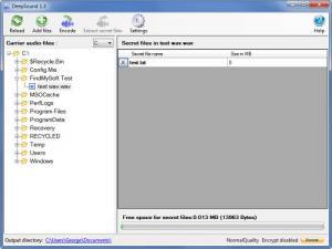 Enlarge DeepSound Screenshot