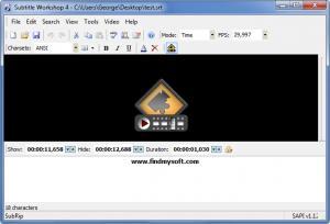 Enlarge Subtitle Workshop Screenshot