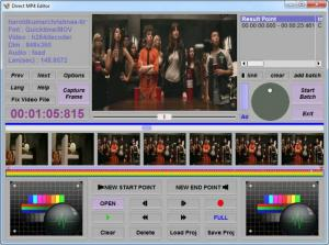 Enlarge MP4 Direct Editor Screenshot