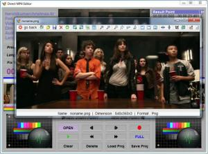 Enlarge MP4 Direct Editor Screenshot