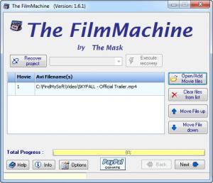 Enlarge The FilmMachine Screenshot