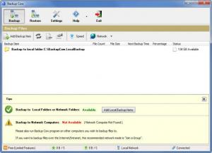Enlarge Backup Cow Screenshot
