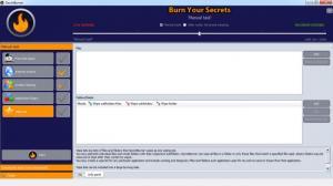 Enlarge SecretBurner Screenshot
