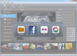 Enlarge Photo Gallery Builder Screenshot
