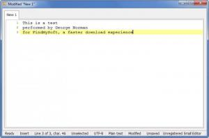 Enlarge Small Editor Screenshot