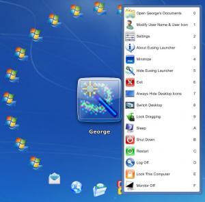 Enlarge Eusing Launcher Screenshot