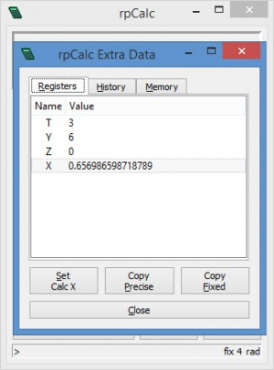 Enlarge rpCalc Screenshot