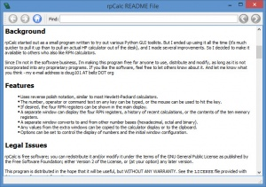 Enlarge rpCalc Screenshot