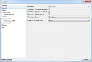 Enlarge Ultracopier Screenshot