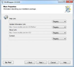 Enlarge MSI Wrapper Screenshot