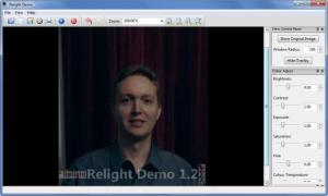 Enlarge Relight Screenshot