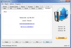 Enlarge SimpleSysInfo Screenshot