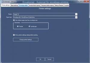 Enlarge Envelomat Screenshot