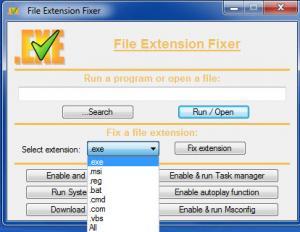 Enlarge ExeFixer Screenshot