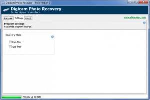 Enlarge Digicam Photo Recovery Screenshot