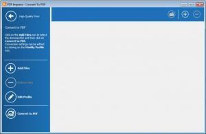 Enlarge PDF Impress Screenshot