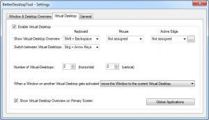 Enlarge BetterDesktopTool Screenshot