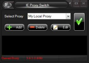 Enlarge IE Proxy Switch Screenshot