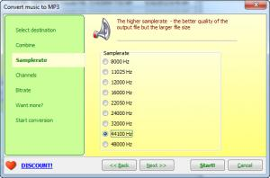 Enlarge Joyce Audio Converter Screenshot