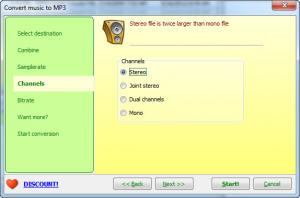 Enlarge Joyce Audio Converter Screenshot