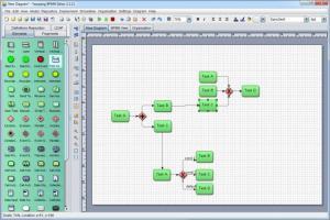 Enlarge Yaoqiang BPMN Editor Screenshot