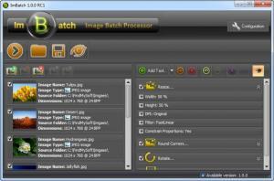 Enlarge ImBatch Screenshot