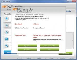 Enlarge MYPCTuneUp Screenshot