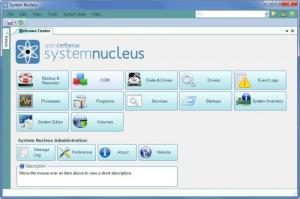 Enlarge System Nucleus Screenshot