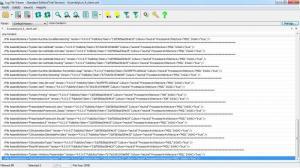 Enlarge Log File View Screenshot