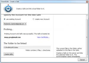 Enlarge SharedSafe Screenshot