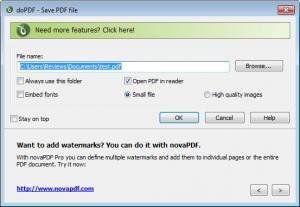Enlarge doPDF Screenshot