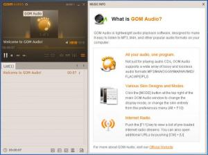 Enlarge GOM Audio Screenshot