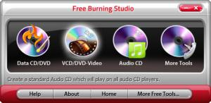 Enlarge Free Burning Studio Screenshot