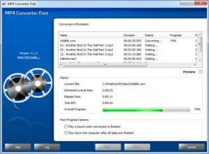 Enlarge MP4 Converter Free Screenshot