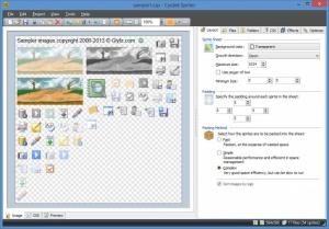 Enlarge Cyotek Spriter Screenshot