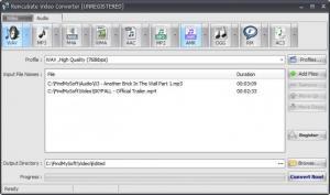 Enlarge Reincubate Video Converter Screenshot