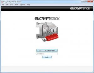 Enlarge Encrypt Stick Screenshot