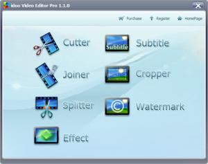 Enlarge idoo Video Editor Pro Screenshot