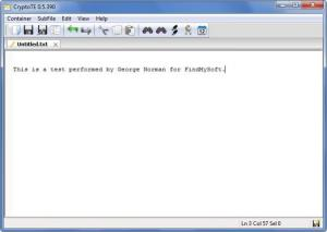 Enlarge CryptoTE Screenshot