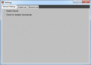 Enlarge Xvirus Personal Firewall Screenshot