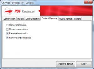 Enlarge ORPALIS PDF Reducer Screenshot
