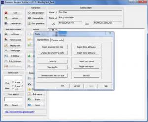 Enlarge Eunomia Process Builder Screenshot