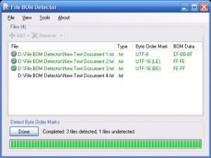 Enlarge File BOM Detector Screenshot