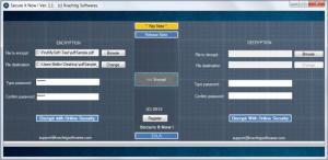 Enlarge Secure It Now! Screenshot