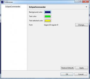 Enlarge EclipseCommander Screenshot